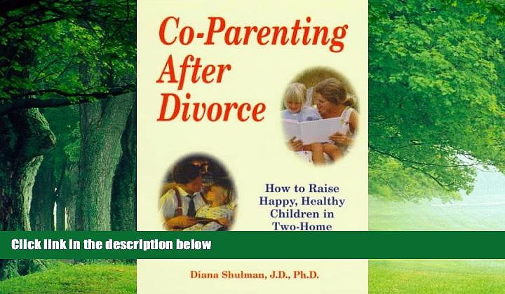 Books to Read  Co-Parenting After Divorce: How to Raise Happy, Healthy Children in Two-Home