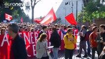 Ιταλία: Στους δρόμους οι μαθητές για την εκπαιδευτική μεταρρύθμιση Ρέντσι