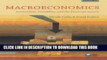 Collection Book Macroeconomics: Institutions, Instability, and the Financial System