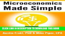 Collection Book Microeconomics Made Simple: Basic Microeconomic Principles Explained in 100 Pages