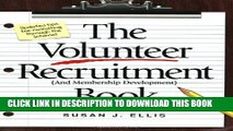 New Book The Volunteer Recruitment (and Membership Development) Book