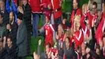 Hungary vs Switzerland 1-1 Seferovic Goal 2016