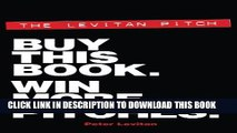Collection Book The Levitan Pitch. Buy This Book. Win More Pitches.