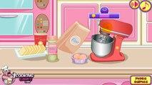 Tutorial mainan Edukasi Anak, Masak Masakan Games Online Membuat Kue Ulang tahun