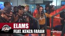 """Elams Feat  Kenza Farah """"Petit frère"""" en live #PlanèteRap"""
