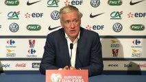 Foot - CM2018 - Bleus : Deschamps «content pour Gameiro et Griezmann»
