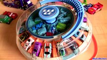 36 Rotating Cars Carousel Playset Using Micro Drifters & Micro Cars Disney Pixar Auto Collection