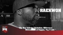 Raekwon - Hip Hop Industry Evolution, Difference Between MC & Rapper, Top 5 List (247HH Archives) (247HH Archive)