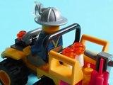 LEGO City Voiture D´Exploitation Minière, Lego Voitures Jouets Pour Enfants