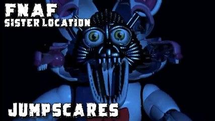 FNAF SISTER LOCATION ALL JUMPSCARES - Five Nights at