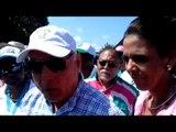 Expresidente Ricardo Martinelli llega a Los Santos para apoyar a Mariela Vega