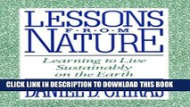 [PDF] Lessons from Nature: Learning To Live Sustainably On The Earth Full Colection