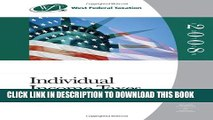 New Book West Federal Taxation 2008: Individual Income Taxes (with RIA Checkpoint and Turbo Tax