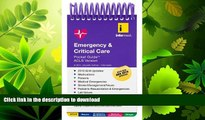 GET PDF  Emergency     Critical Care Pocket Guide, ACLS Version FULL ONLINE
