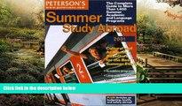 Big Deals  Peterson s Summer Study Abroad 2001 (Short Term Study Programs Abroad)  Best Seller