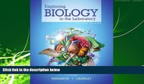 Popular Book Exploring Biology in the Laboratory second edition