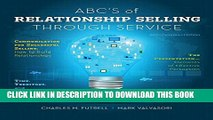 [PDF] ABCs of Relationship Selling Through Service Full Collection