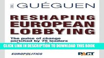Collection Book Reshaping European Lobbying