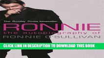 [PDF] Ronnie: The Autobiography of Ronnie O Sullivan Popular Online