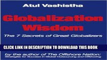 Collection Book Globalization Wisdom: The Seven Secrets of Great Globalizers