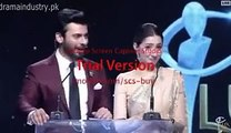 Actress Meera Got angry on Fawad Khan in Lux Style Awards 2015 -www.paktune.pk