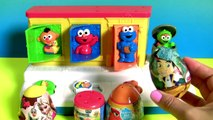 Baby Sesame Street Pop-Up Pals Surprise Toys | Learn Colors Singing C is for Cookie Monster + Elmo