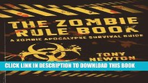 New Book The Zombie Rule Book: A Zombie Apocalypse Survival Guide