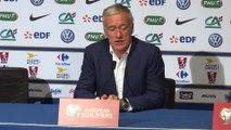 France - Bulgarie: Didier Deschamps parle du duo K. Gameiro et A. Griezmann