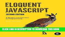 PDF Eloquent JavaScript: A Modern Introduction to