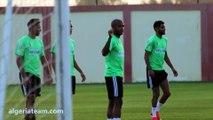 Allaqta - Entrainement de l'équipe nationale à Blida