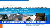 New Book Strategic Marketing for Non-Profit Organizations (7th Edition)