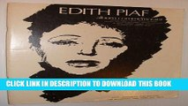 [PDF] Edith Piaf - Album Commemoratif: Sheet Music for Voice (French) and Piano Popular Collection