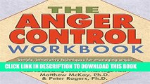 Collection Book The Anger Control Workbook