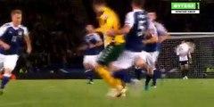 0-1 Fedor Cernych Goal - Scotland 0-1 Lithuania - 08.10.2016 HD