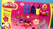 Play Doh Snow White and the 7 Dwarfs Playset Disney Princess Playdough Snow and Evil Queen