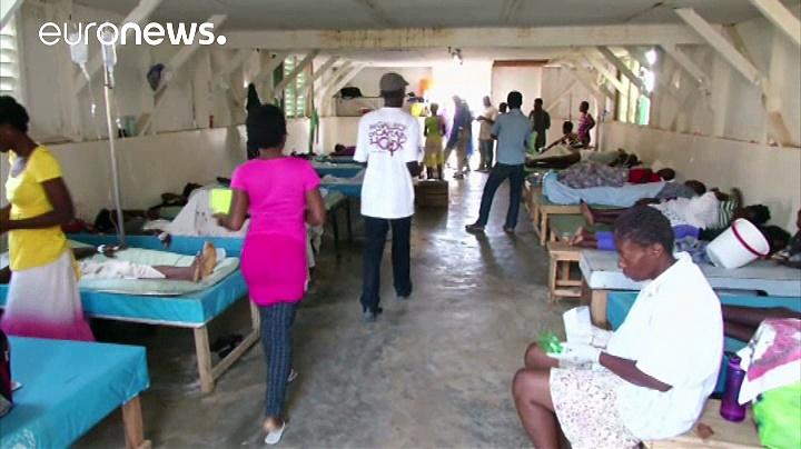 Αϊτή: Αγώνας για να αποτραπεί επιδημία χολέρας μετά το πέρασμα του τυφώνα Μάθιου
