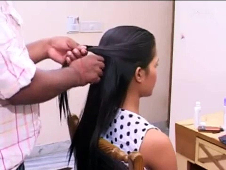 Malayali hair style for short hair
