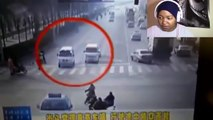 Real GHOST caught on tape Cause fatal car crash accident GHOST CAUGHT ON TAPE Scary videos of ghosts