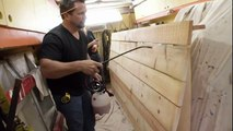 Comment réaliser un effet vieux bois -  Voici un traitement du bois effet vieux bois de grange, Une astuce simple à faire et efficace!