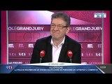 """Jean-Luc Mélenchon invité  à """"Le Grand Jury""""  sur LCI le 09/10/2016"""
