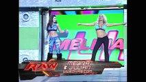 Beth Phoenix, Melina and Jillian Hall vs. Candice Michelle, Mickie James and Maria