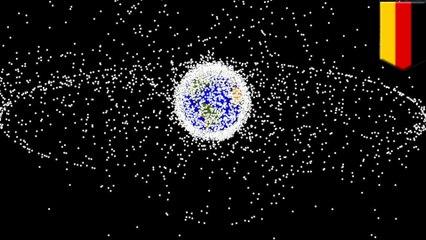 On propose d'utiliser des lasers pour nettoyer les débris spatiaux