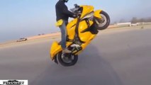 Motorcycle Fail & Win Compilation 2016 Wheelies Fails & Wins #2