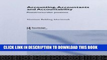 [PDF] Accounting, Accountants and Accountability (Routledge Studies in Accounting) Full Collection