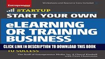 New Book Start Your Own eLearning or Training Business: Your Step-By-Step Guide to Success
