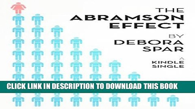 New Book The Abramson Effect (Kindle Single)