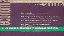 [PDF] Economia: Spring 2004: Journal of the Latin American and Caribbean Economic Association