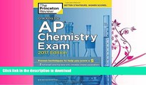 READ  Cracking the AP Chemistry Exam, 2017 Edition: Proven Techniques to Help You Score a 5