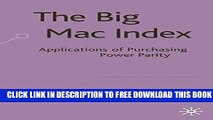 [PDF] The Big Mac Index: Applications of Purchasing Power Parity Popular Colection