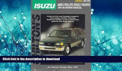 Isuzu Amigo Resource   Learn About, Share and Discuss Isuzu